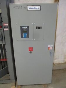 Russ Electric 600 Amp 3 4 Wire 120 208v Automatic Transfer Switch Ats277