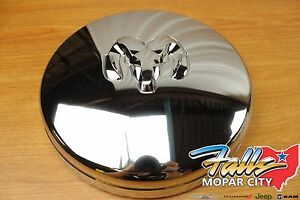 02 18 Dodge Ram 3500 5500 Front Dually Chrome Hub Center Cap Replacement Oem