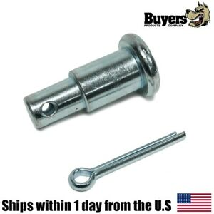 Step Pin Minute Mount Cotter Pin Kit Assembly For Fisher Snow Plows 27177k 27177