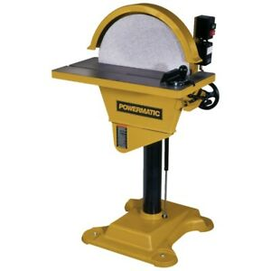 Powermatic 1791264 DS20 Disc Sander 3HP 3PH 230460V