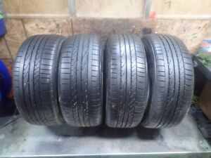 Set Of Bridgestone Potenza Re050a Tires 225 45 19 96w And 245 40 19 98w