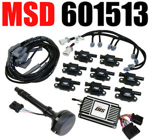 Msd 601513 Direct Ignition System Chevy Small Block Chevy Big Block Black