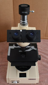Swift M4000d Compound Microscope 4 Objectives X y Stage Quodmaster Video Lens