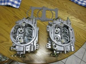 Carter Afb 9502 Dual Quad Carburetors 500 Cfm 9502s Not Edelbrock Carb