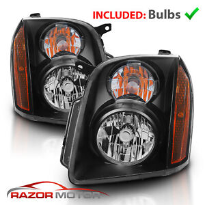 2007 2008 2009 2010 2011 2012 2013 2014 Gmc Yukon Xl Denali Black Headlights