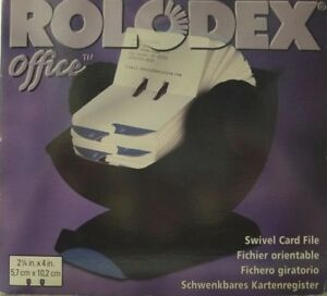 Brand New Rolodex Office Business Card File 66860 Free Fast Shipping