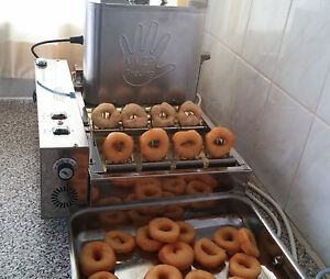 570 D hour Fully Automatic Professional Mini Donut Machine Eu Made Commercial