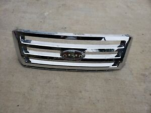 2007 2008 2009 2010 2011 2012 2013 2014 Ford Expedition Chrome Grill Oem