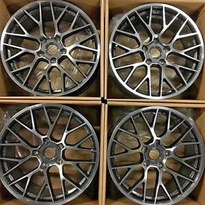 20 Porsche Cayenne S Turbo Wheels Rims New Staggered 20x9 20x10 Set Of 4 Factory