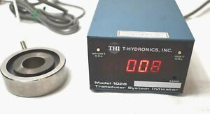 T hydronics Force Transducer Tension Load Cell System Indicator 1028