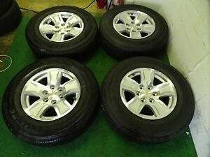 2018 Chevrolet Silverado 1500 Tahoe Factory Oem 17 Wheels Rims 225 70 17 Tires