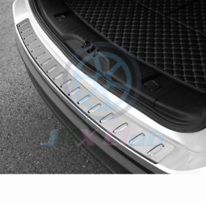 For Ford Edge 2015 2018 Stainless Rear Trunk Protection Pedal Molding Trim K