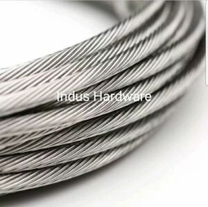 Stainless Steel T316l Cable Railing 3 16 1x19 7x19 Commercial Grade New Stock
