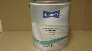 311 Standox Standohyd 1 Litre Waterbased Basecoat Mixing Tinter