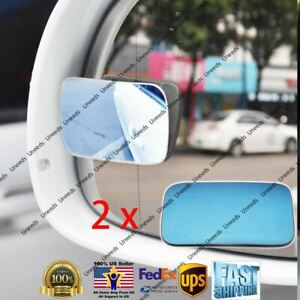 Blind Spot Mirror Wide Angle Rear View Car Side Mirror 3m Adhesive For Honda