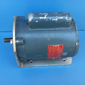 Ge 5kc36fg198ex 1 3hp Electric Motor 115 220v 3450rpm Usa G11b