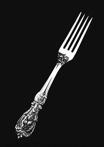 Reed Barton Sterling Silver Francis I Dinner Or Place Fork 7 1 8 Old Marks