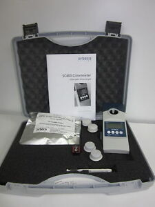 Orbeco Hellige Sc 400 Colorimeter Single Parameter Miami