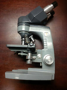 American Optical Spencer Microscope With Lens Miami