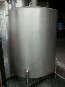 Stainless Steel Mix Tank 300 Gallon Miami