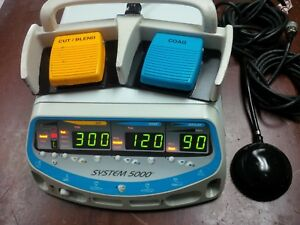 Conmed System 5000 Electrosurgical Unit Bi Monopolar Foot Switches Miami