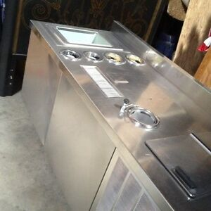 Commercial Ice Cream Dipping Freezer