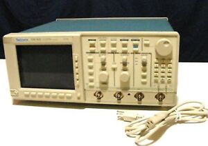 Tektronix Tds 520 2 channel Digitizing Oscilloscope Clean For Parts Repair