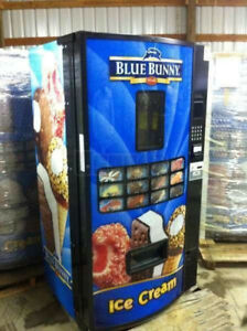 Fastcorp Ice Cream Frozen Food Vending Machine Model Fri z400 Free Ship
