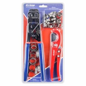 Icrimp Pex Cinch Tool With Removing Function For 3 8 1 stainless Steel Clamps