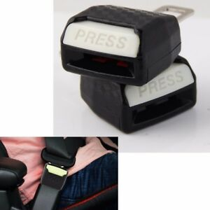 New Universal Car Safety Seat Belt Extender Extension 2 1cm Buckle Lock Clip