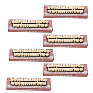 168pc 6set Denture Acrylic Resin Full Set Teeth Upper Lower Shade 23 A3 Dental