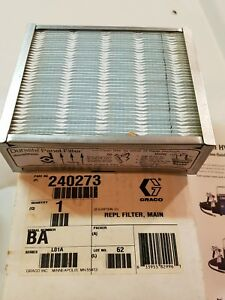 Graco Hvlp 4900 Part this Sale Is For One Main Filter 240273 Per Photo