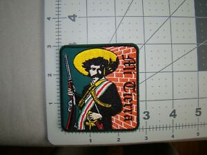 Emiliano Zapata Patch Hispanic Culture Patch Chicano Raza Patch Hat Patch Jacket