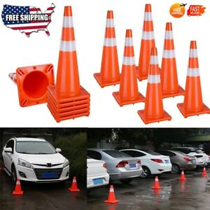18 28 36 Traffic Cones Reflective Safety Cone Parking Construction Emergency