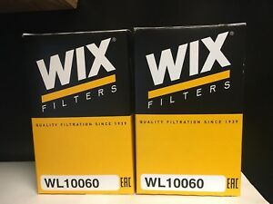 Engine Oil Filter Wix Wl10060 2 Pack Ram truck jeep Eco Diesel 3 0l