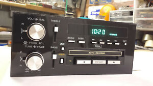 84 85 86 87 Buick Regal T type Grand National Gnx Delco Gm Am Fm Cassette Radio