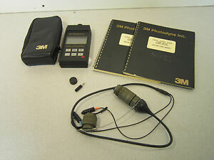 3m Photodyne 17xta Fiber Optic Power Meter With Case And Manuals
