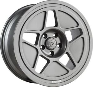 19x9 5 Fifteen52 Tarmac R43 5x114 3 35 Grey Wheels Fits Civic Veloster Eclipse