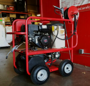 Used Hotsy 965ss Gas Engine Hot Water Pressure Washer 1 110 015 0 2