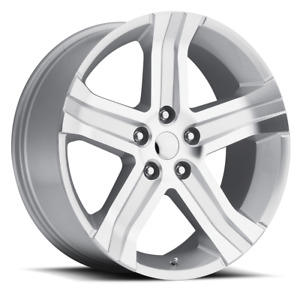 New Set 4 22 22x9 Dodge Ram 1500 Dakota Durango Wheels Rims Machined Silver