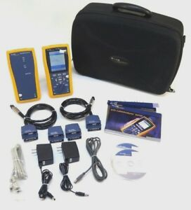 Fluke Dtx 1800 Cat 6a Cable Analyzer W Accessories Dtx pla002 Dtx cha002