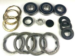 Jeep Nsg370 2005 16 6 Speed Transmission Bearing Kit With Synchronizer Rings
