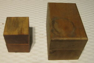 Set Of Numbers And Letters Steel Stamps With Woodin Storage Boxes