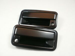 Metal Front Outside Pair Door Handles 1988 1994 Chevy Gmc C K Silverado Sierra