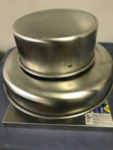 Greenheck Commercial Roof Exhaust Fan G 065 dgex qd 17x17 Curb
