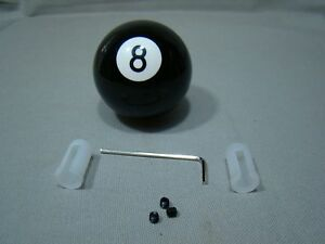 Black White Shifter Knob 8 Ball Shifter Handle 8 Ball Lever Custom Shifter