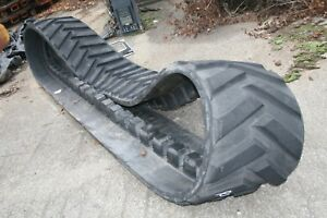 2 Caterpillar 21 Wide Used Challenger Rubber Tracks 1r1375 48 Lug M105 Duece