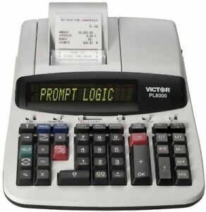 New Victor Technology Pl8000 Thermal Printing Calculator Prompt Logic Help Key