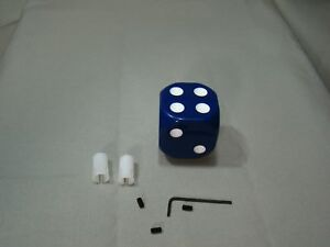 Blue Dice Shifter Handle Shifter Lever Dice Shifter Knob Custom Shifter Knob