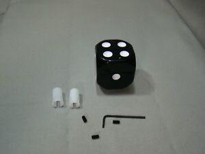 Black Dice Shifter Handle Shifter Lever Dice Shifter Knob Custom Shifter Knob
